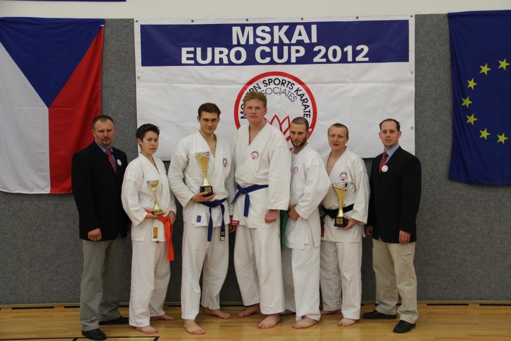 MSKAI EuroCup 2012 - Mezinárodní turnaj v Havlíčkově Brodě. Velmi úspěšná brněnská účast.