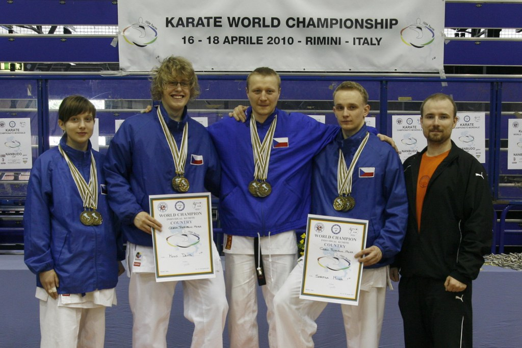 Karate World Championship F.E.K.D.A. and Nanbudo World Cup - Reprezentace MSKA-CZ
