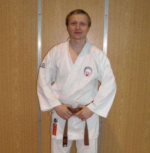 Lubomír Macek, 1. Dan, emeritní vedoucí oddílu -